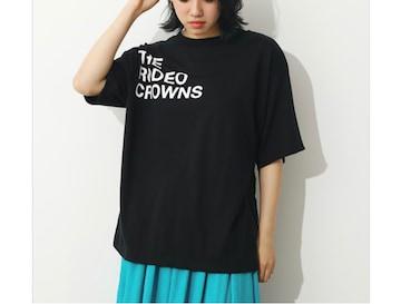 ロデオ★ショルダーロゴTシャツ【ブラック】