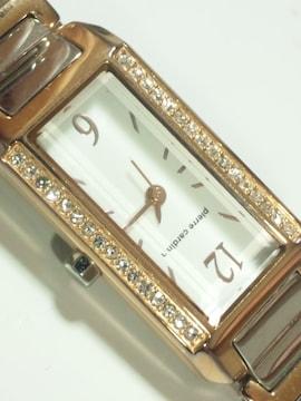 11529/ピエールカルダン滅茶苦茶可愛いスワロベゼルのレディース腕時計素敵