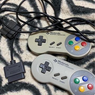*Nintendo *スーパーファミコンコントローラー二つ*