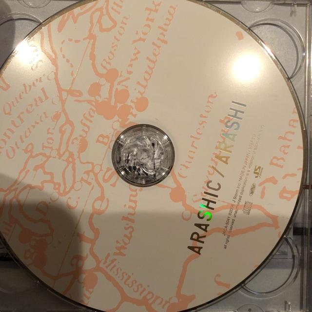 激レア!☆嵐/ARASHIC☆初回限定盤/CD+DVD☆帯付き!美品!☆ < タレントグッズの