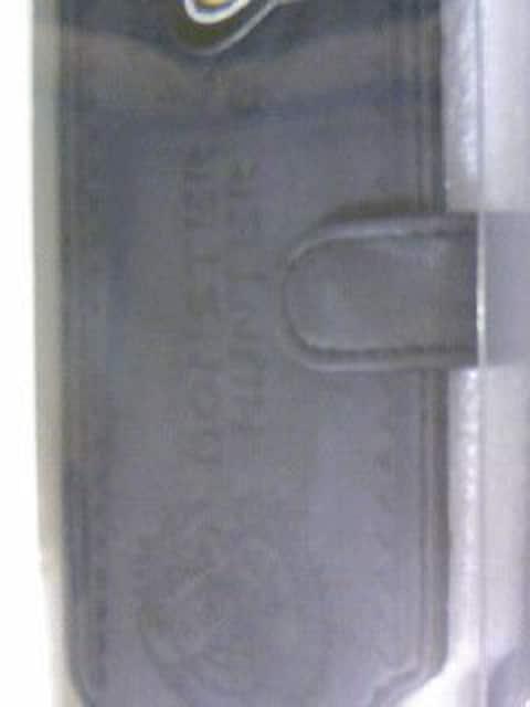 レア モンスターハンター2ndGハンターレザーカバープレミアムブラック/PSP MHP モンハン 保護ケース < ゲーム本体/ソフトの