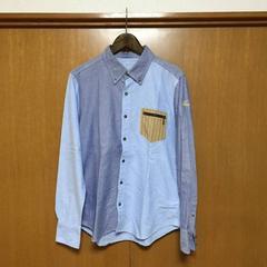 ★TMT ティーエムティー 15ss 長袖 切り替えしシャツ★