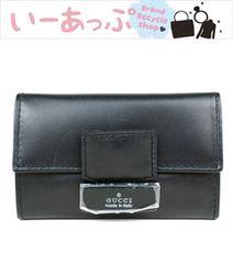 美品!グッチ 6連キーケース 黒 e862