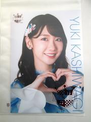 AKB48 柏木由紀 SHOP限定 9/15発売 第159弾 A4生写真ポスター