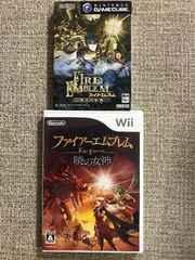 ファイアーエムブレム 蒼炎の軌跡・暁の女神セット GC・Wii
