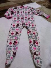 フリース全身パジャマ 120cm