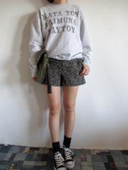 1.7万フローレント/FLORENT★ハイウエストショートパンツ