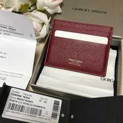 新品未使用GIORGIO ARMANI直営店カードケース購入時のままお届