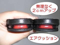 無理なく2cmUp シークレットインソール エア 上げ底 中敷(小)