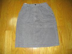 婦人綿タイトスカートグレーW60〜63H88〜90丈50
