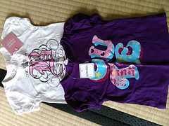 新品/可愛い半袖Tシャツ2枚セット/size80センチ