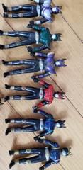 仮面ライダークウガのフィギュア【8体セット】