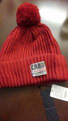 CANDY STRIPPERキャンディーストリッパー/えんじ赤ニット帽子/新品未使用タグ付