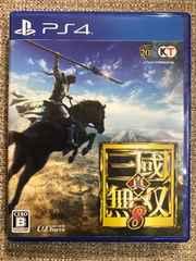 真・三国無双8 初回コード付き 新品同様 PS4 真・三國無双8
