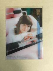 NMB48 渡辺美優紀 2014 トレカ R022 アイドル クリアカード