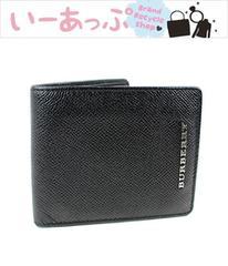 バーバリー 二つ折り財布 BURBERRY 美品 j882