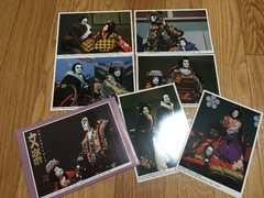 新品文楽人形ポストカード6枚セット演劇歌舞伎狂言日本芸能
