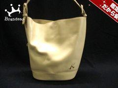 KITAMURA(キタムラ) トートバッグ アイボリー レザー