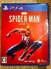 スパイダーマン 新品同様 PS4 SPIDER-MAN