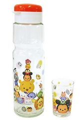 Disney(ディズニー) ツムツム プレミアムガラスクールポット&グラスセット