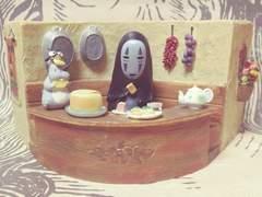 希少【スタジオジブリ】千と千尋の神隠し『カオナシ』プランター 未使用美品
