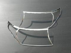 ランドクルーザー200系 メッキ ヘッドライトリング ランクル 前期