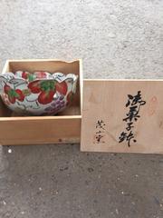 新品 茂山 薫 御菓子鉢