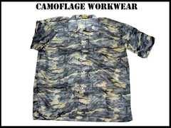 新品 ミリタリーカモフラ(5XL)G Military Camoflage Shirt