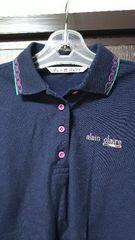 ポロシャツ 紺 alain claire