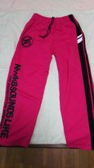 men's  Sサイズ  スウェットパンツ   ピンク  美品
