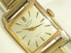 3517/シチズン☆ホーマー!ビンテージ稀少スクエアケースブレスレット型腕時計破壊