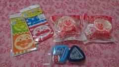 アンパンマンセット☆マグカップ/プチタオル/おにぎりケース