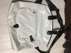 ホワイト白プーマの3wayバッグ美品機能性軽量オシャレ