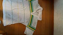 白のポロシャツ【Lサイズ】