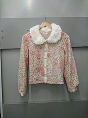 LIZ LISA☆ヒョウ薔薇柄長袖カーデ