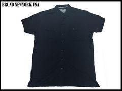 新 【紺色-4XLT】 Bruno Newyork シャツ 人気大きいサイズ
