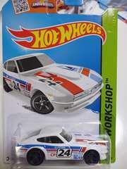 ホットウィール DATSUN 240Z ダットサンフェアレディZ 日産旧車白