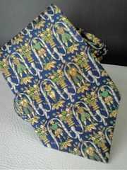 即決!送料無料●サルヴァトーレ・フェラガモ 伊製 ネクタイ