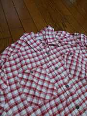 新同★『赤 × 白 チェックシャツ』=13R=
