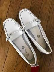 白☆合皮4L靴