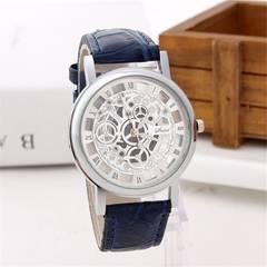 【送料込】Honel 腕時計 ファッションアンティーク風 ブルー