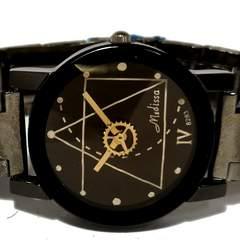 【未使用】1スタ★Medissa 歯車の可愛い腕時計