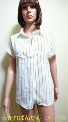 ☆One way☆ゆる可愛いピンSTカッターシャツT99☆3点で即落☆