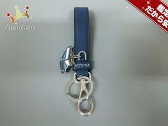 プラダ キーホルダー(チャーム) ブルー×シルバー×マルチ PRADA