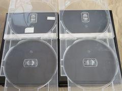 中古DVD2枚組用ケース10本 スリムケース レンタル用ケース