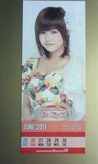 ソロカレンダーコレクションカード 2010.12.23/新垣里沙