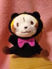 ■あらいぐまラスカル■ニャンコスタイルマスコット★黒猫■