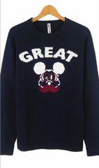 Disney SPINASH ミッキーマウス コラボ ニット 美品