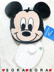 ディズニー【ミッキー】ポカポカ暖かい♪湯たんぽ&ジップカバー2点セット