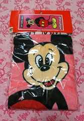 ミッキーマウス フェイスタオル/レトロなミッキー